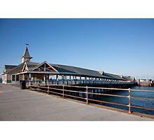 Oak Bluffs Terminal Photographic Print