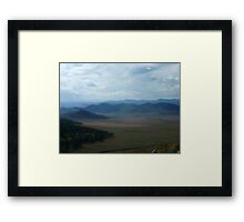 Mongolian Plains Framed Print