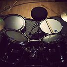 Vintage Drums by Kevin Miller