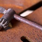 Rusty Chuck Key by RandiScott