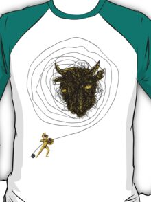 Theseus, the Minotaur, and the Thread Maze T-Shirt