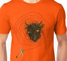 Theseus, the Minotaur, and the Thread Maze Unisex T-Shirt