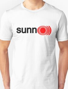 Sunn Amp Sticker Unisex T-Shirt