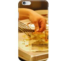 Culinary Competition - De-Molding  iPhone Case/Skin