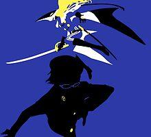 Naoto Shirogane/Sumeragi (Persona 4) by RobsteinOne