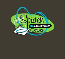 Spider Relocation Service - Lime/Turquoise Unisex T-Shirt