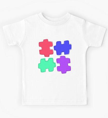 Puzzle Pieces Kids Tee