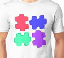 Puzzle Pieces Unisex T-Shirt