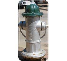 Green Top Fire Hydrant iPhone Case/Skin