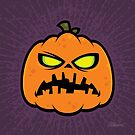 Pumpkin Zombie by fizzgig