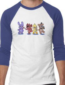 the plush gang Men's Baseball ¾ T-Shirt