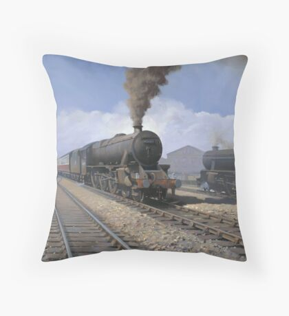 Black 5's Throw Pillow