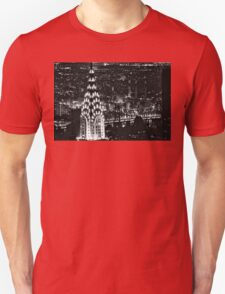 The Chrysler Building at night T-Shirt