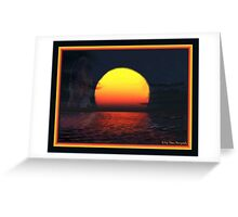 Away From The Sun Greeting Card