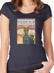 Meow'Dib Women's Fitted Scoop T-Shirt