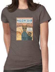 Meow'Dib Womens Fitted T-Shirt