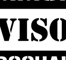 Commoner advisory-Turbocharger Sticker