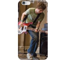 Scott Pilgrum Playing Guitar  iPhone Case/Skin