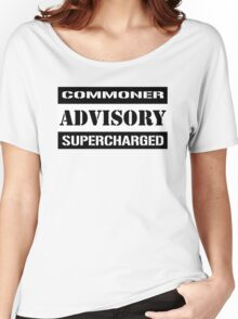 Commoner advisory-Supercharged Women's Relaxed Fit T-Shirt