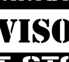 Commoner advisory-Not stock Sticker