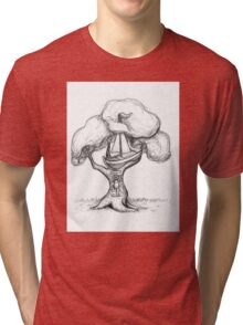 Escaping The World Tri-blend T-Shirt