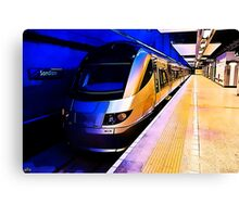 Gautrain - High Speed Train Travel in Africa Canvas Print