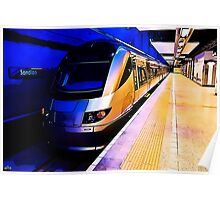 Gautrain - High Speed Train Travel in Africa Poster
