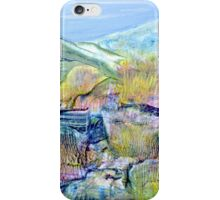 Mountains and Marsh iPhone Case/Skin