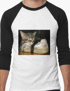 If the shoe fits.... Men's Baseball ¾ T-Shirt