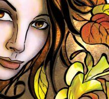 Golden Autumn Dee Sticker