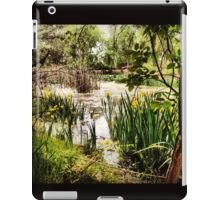 Peaceful Wetlands with Yellow Wildflowers iPad Case/Skin