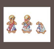 Gingerbread Love One Piece - Short Sleeve