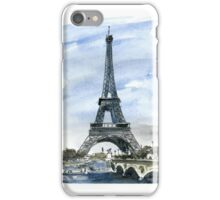The Eiffel Tower - Paris iPhone Case/Skin