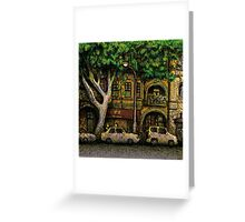 The Yellow House, Potts Point Greeting Card