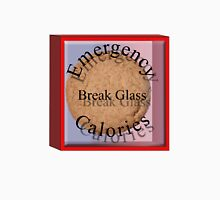 Emergency calories Womens Fitted T-Shirt