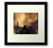 in between the shadows Framed Print