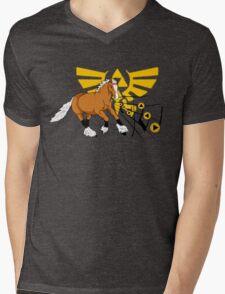 Calling Epona Mens V-Neck T-Shirt