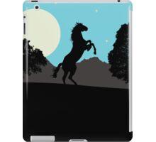 Silhouette Horse iPad Case/Skin