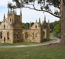 Convict Church Port Arthur Tasmania 1836-37 by PaulWJewell