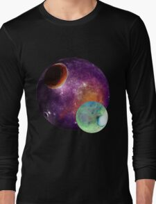 SPACE POLY ART PT.2 Long Sleeve T-Shirt
