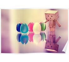 Danbo Found Some Eggs! Poster