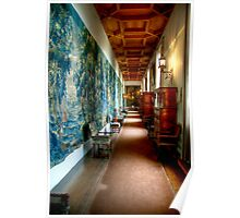 The Long Tapestry Galley at Falkland Palace Poster