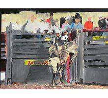 Bull Rider Photographic Print