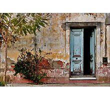 Y el tiempo se quedó a vivir aquí Photographic Print