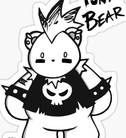 CHUBBY CHIBI PUNK BEAR Sticker