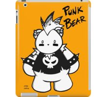 CHUBBY CHIBI PUNK BEAR iPad Case/Skin