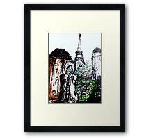 We had Paris Framed Print