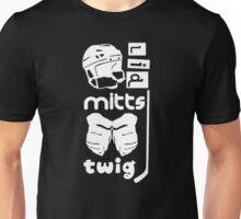Hockey Slang, Lid, Mitts, Twig Unisex T-Shirt