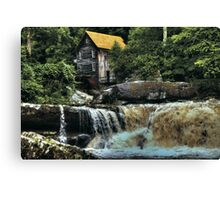 The Glade Creek Grist Mill  Canvas Print