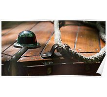 Bow Cleat - Antique Boat Poster